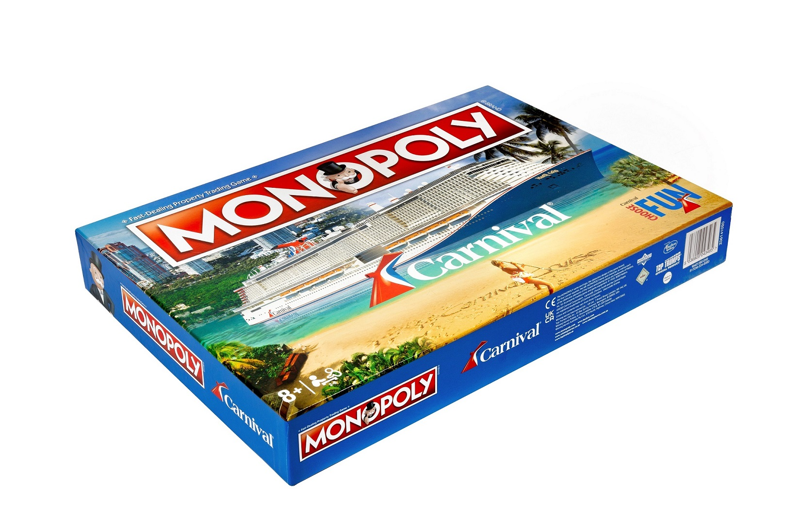 Carnival Cruise Line Launches Cruise-Themed Monopoly Game  (February 2021)
