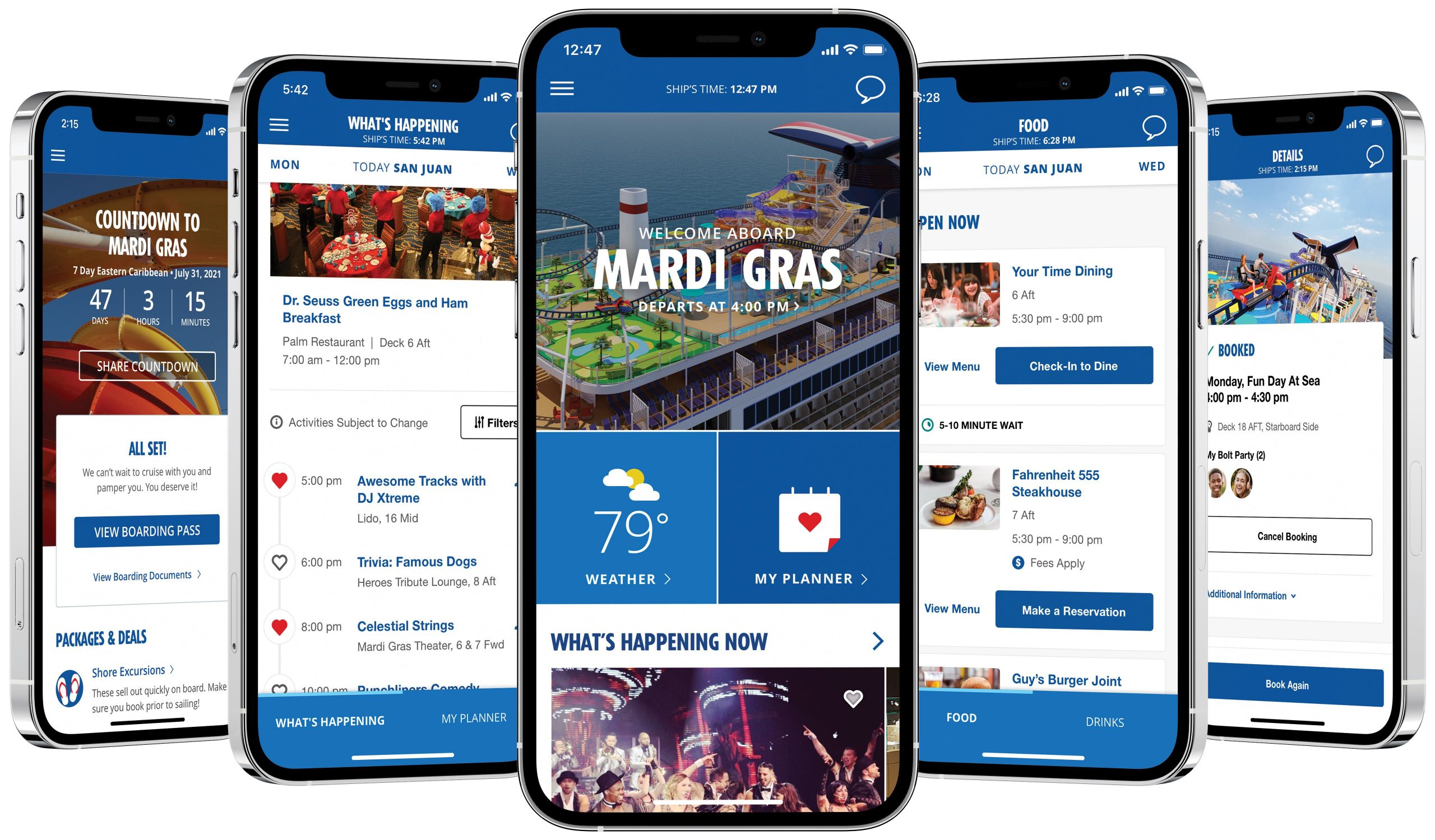 Carnival Cruise Line Expands HUB App to Include Additional Food and Beverage Functionality, Updated Health and Safety Information and More