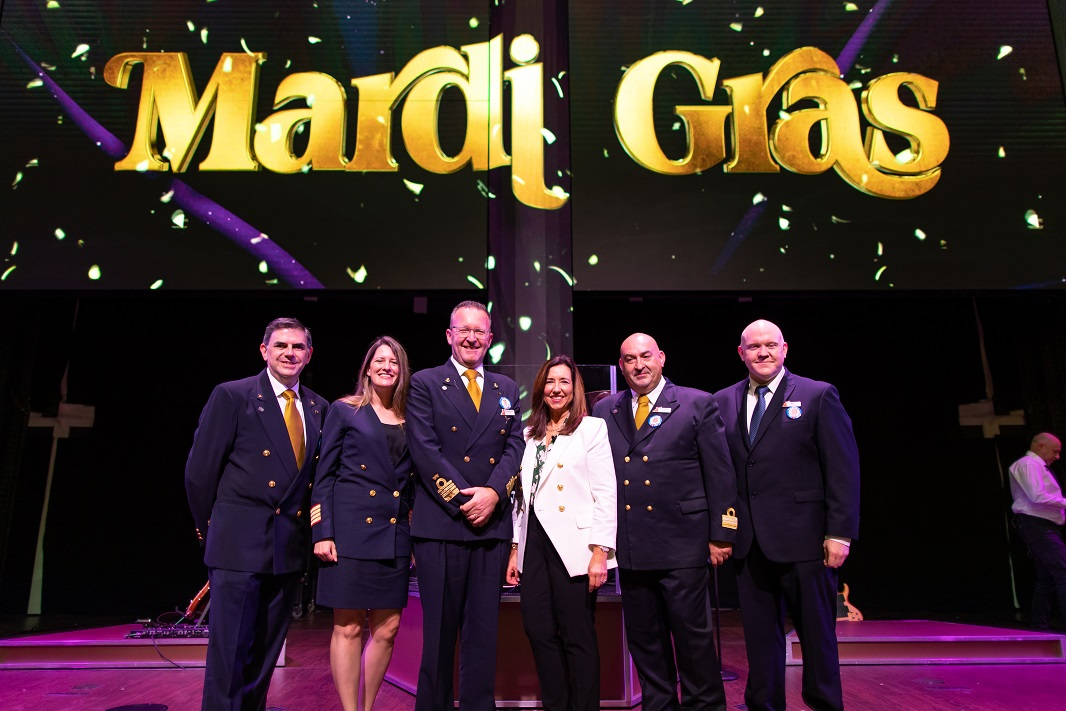 Carnival Cruise Line Welcomes Visitors to See Its New Baby Mardi Gras Ahead of First Voyage on Saturday (July 2021)