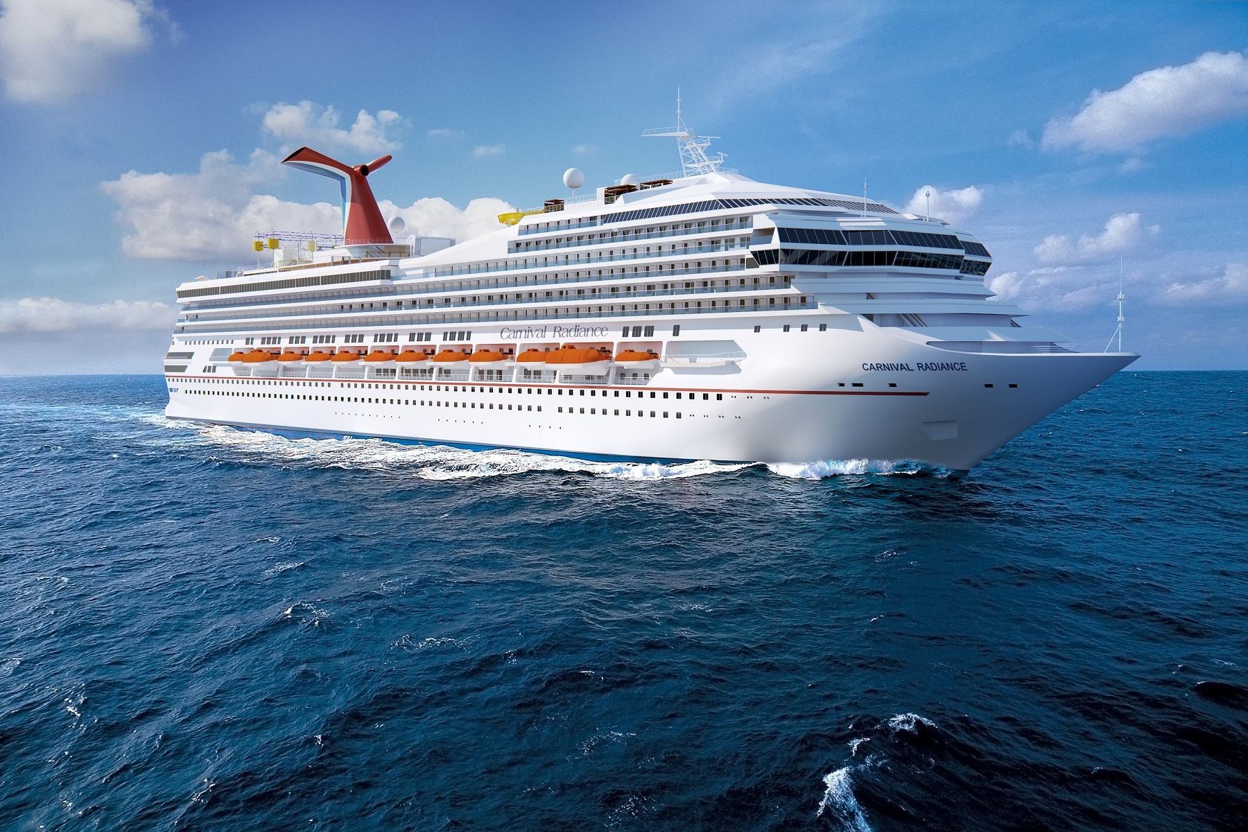 It's Official!  Carnival Victory Renamed Carnival Radiance