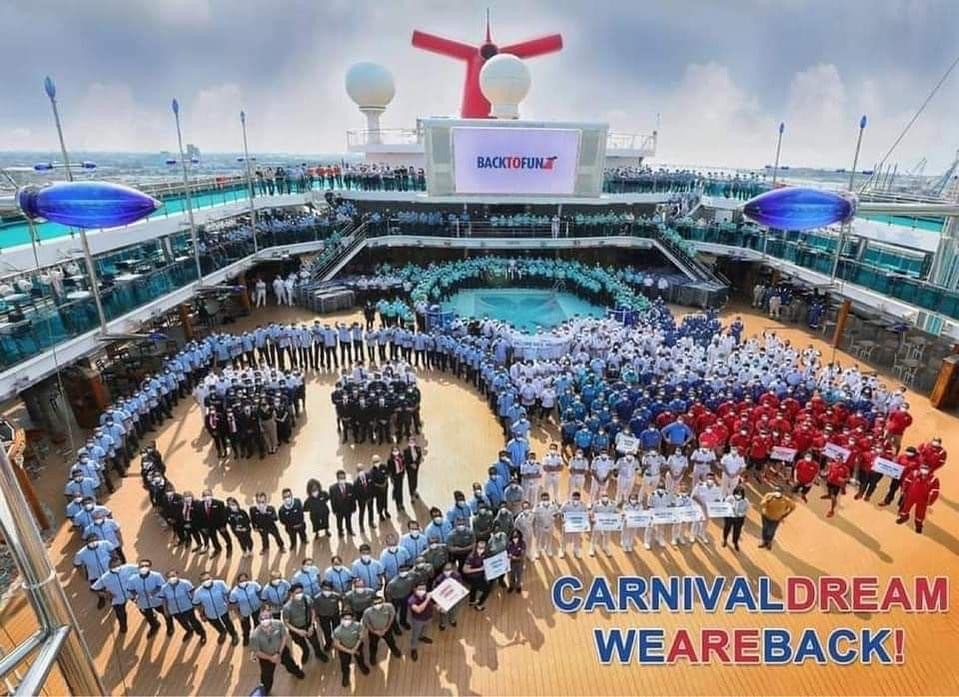 Half of Carnival Cruise Line's U.S. Fleet Back in Service Following Return of Carnival Dream and Glory